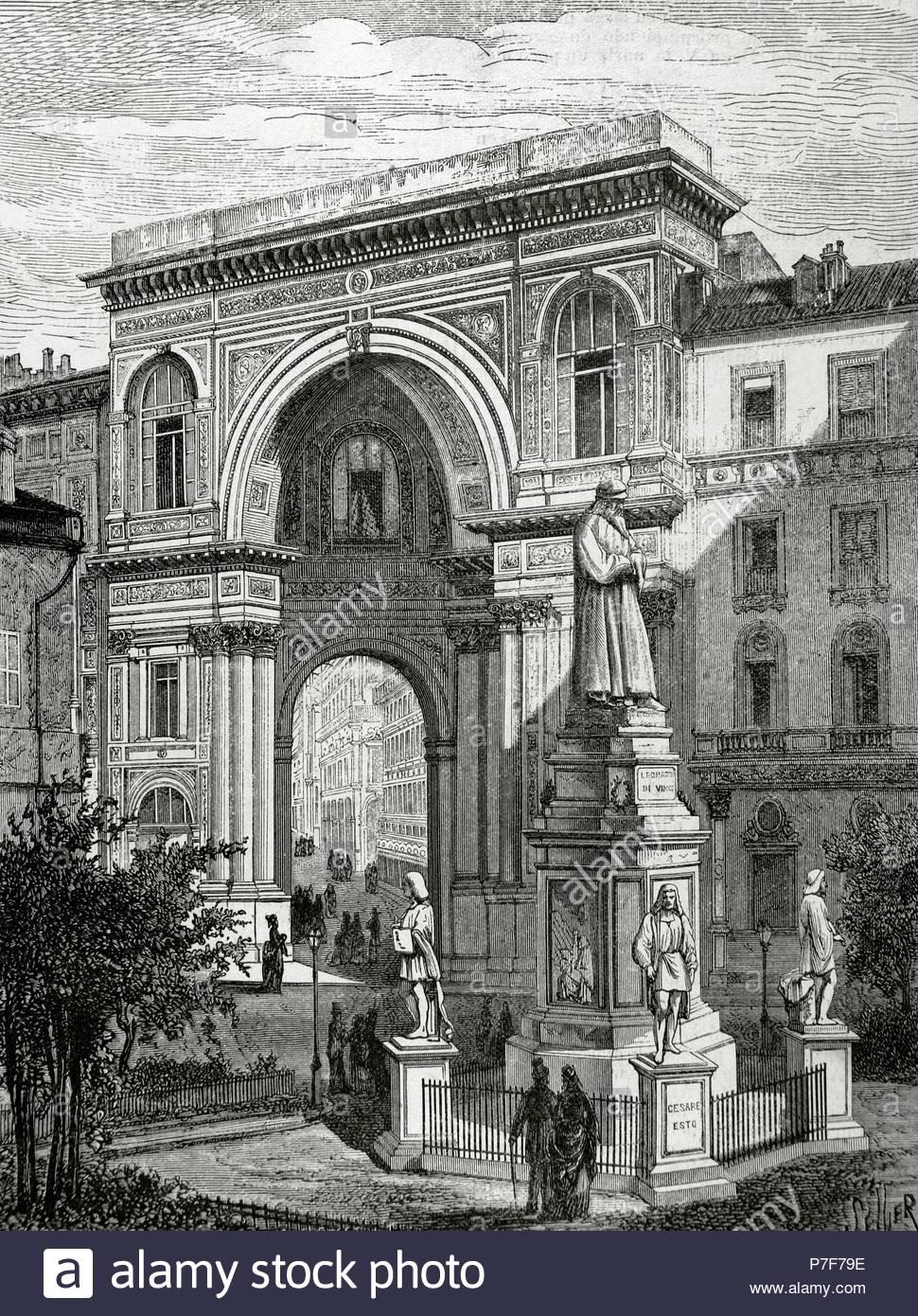 Leonardo da Vinci (1452-1519). Italian polymath known for his works ...