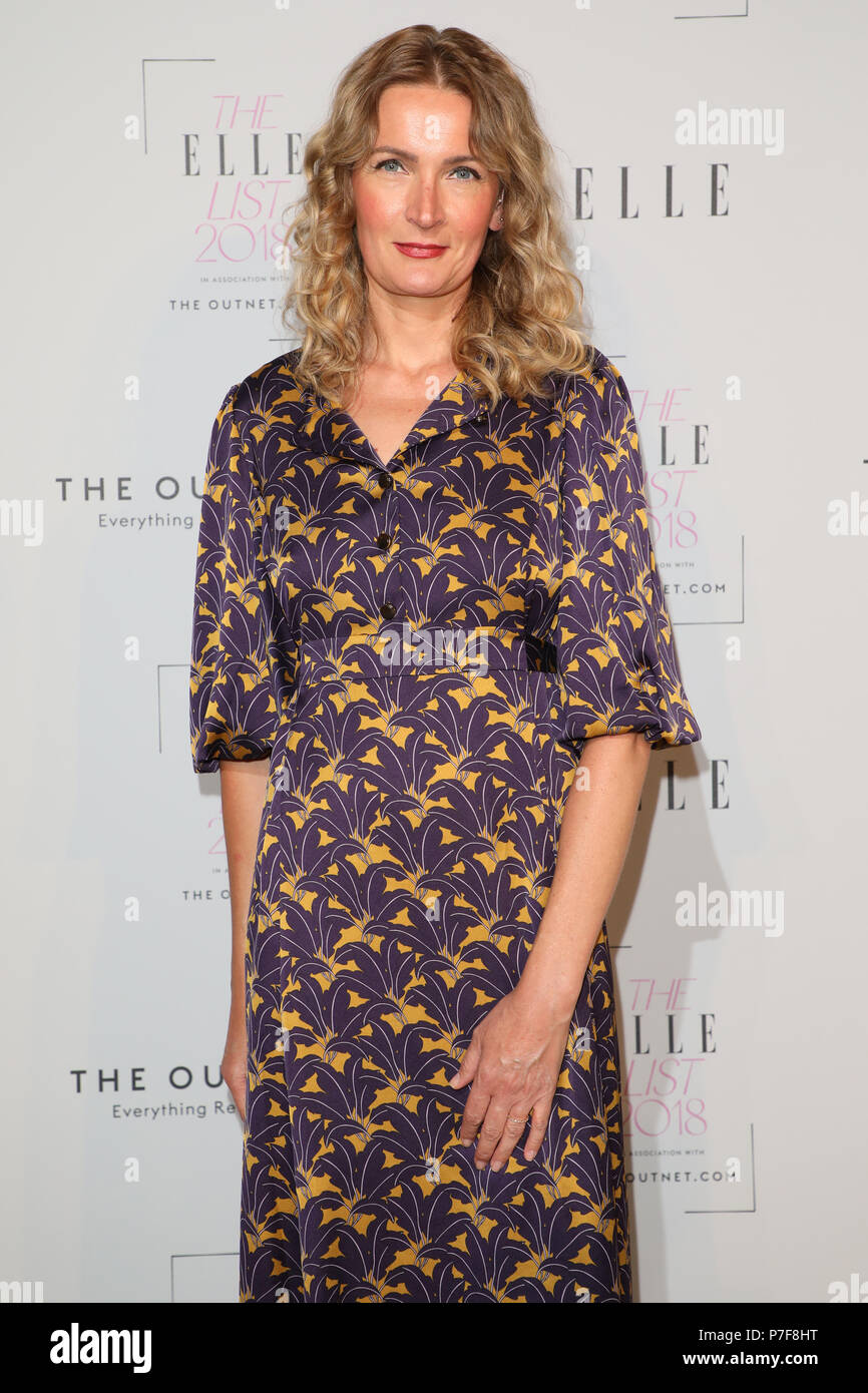 The Elle List 2018 held at Somerset House - Arrivals  Featuring: Sophie Walker Where: London, United Kingdom When: 04 Jun 2018 Credit: Lia Toby/WENN.com Stock Photo