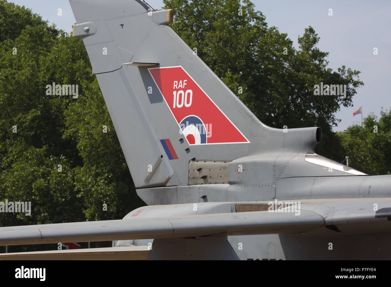 London, UK  6th July 2018  The RAF100 Aircraft Tour in Horse