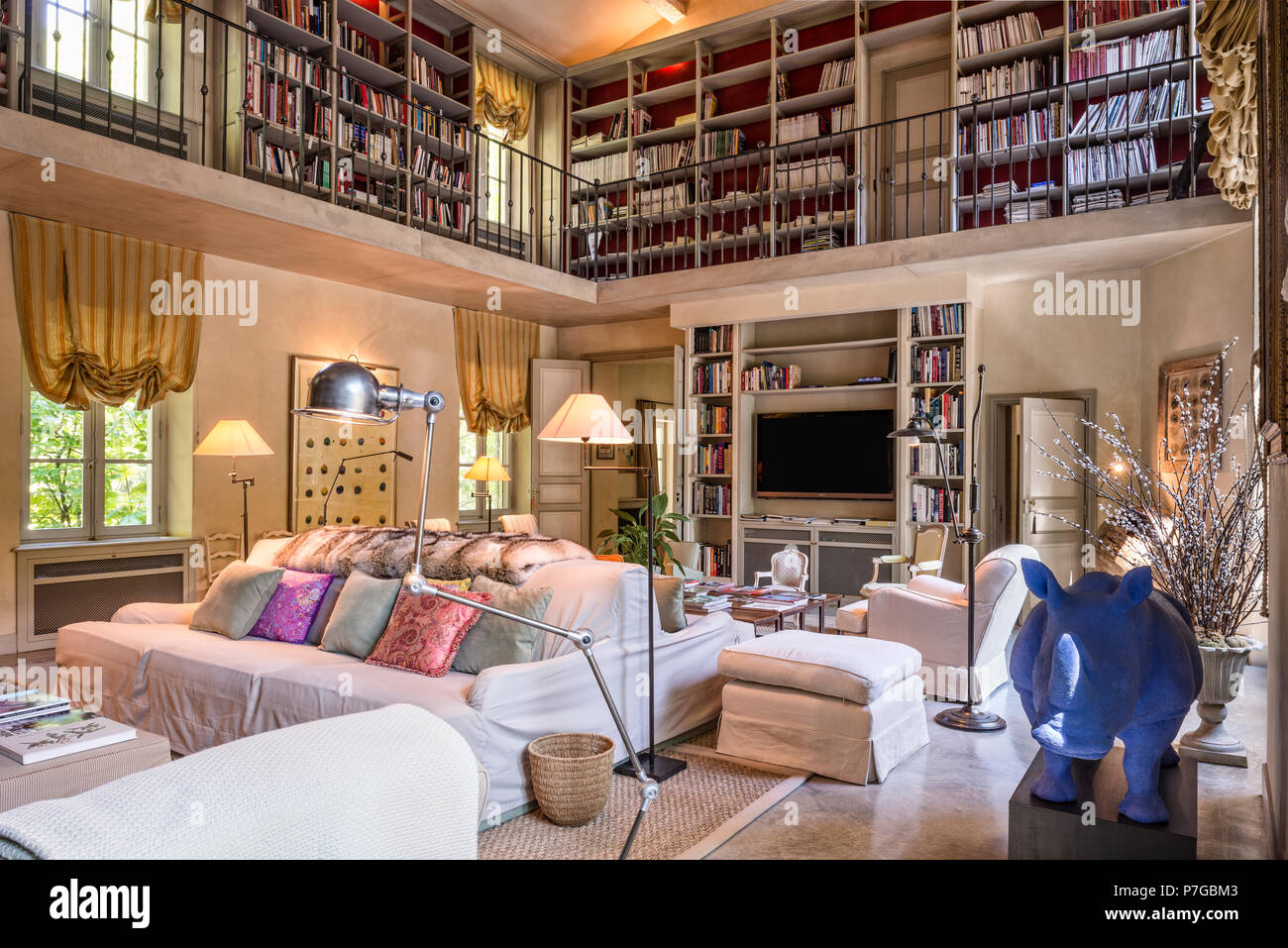 Double Height Living Room In Stock Photos Amp Double Height