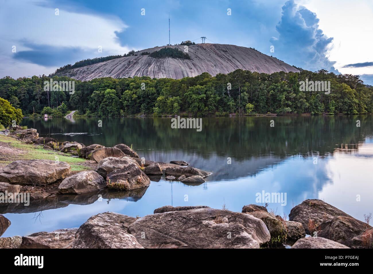 Stone Mountain Park Atlanta Stock Photos Stone Mountain Park