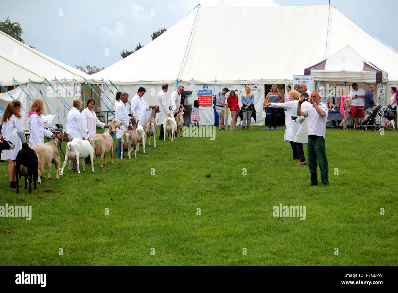 Guildford, England - May 28 2018: Judges at the Surrey