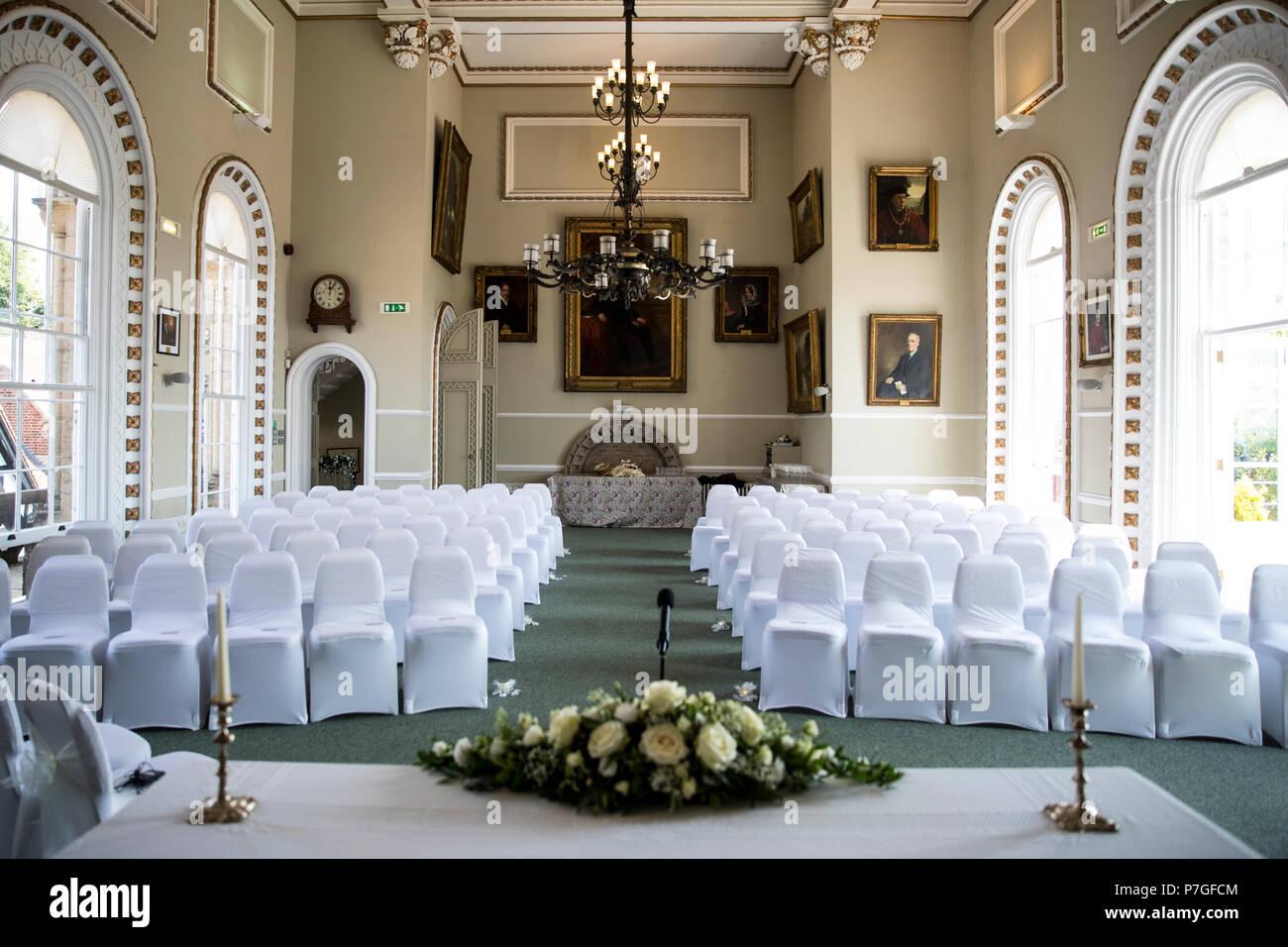 Arundel Town Hall, Arundel, West Sussex - Stock Image