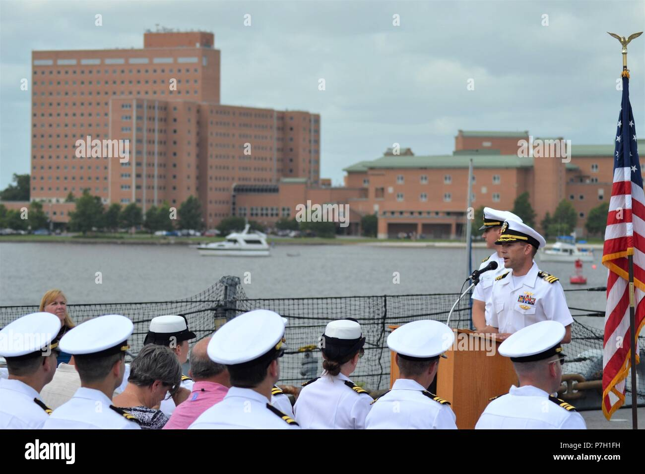 CDR Matthew Lawrence, MC, USN-Department Head of the Emergency