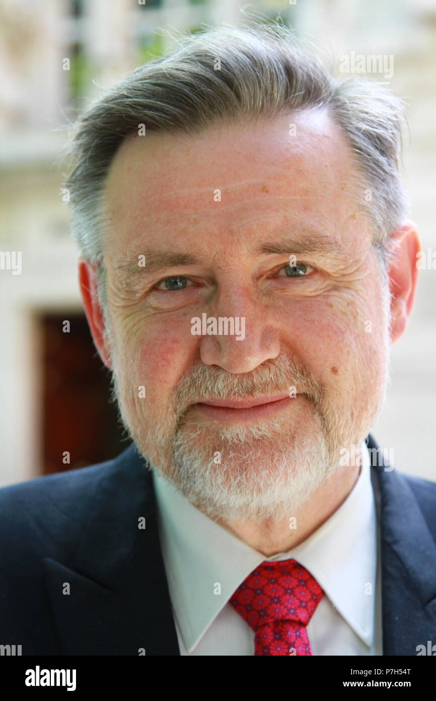Barry Gardiner Shadow Secretary of State for International Trade pictured in Westminster, London, UK. on 6th June 2018. MP. MPS. British politicians. - Stock Image