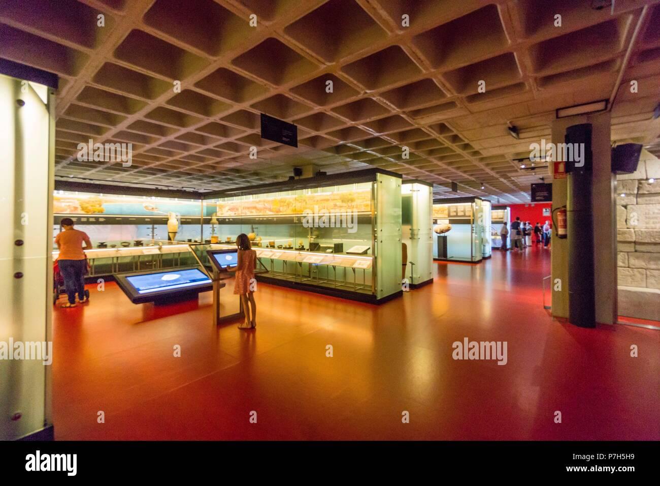 museo arqueologico y de historia de Elche Alejandro Ramos Folqués, Elche, Alicante, comunidad Valenciana, Spain, Europe. Stock Photo