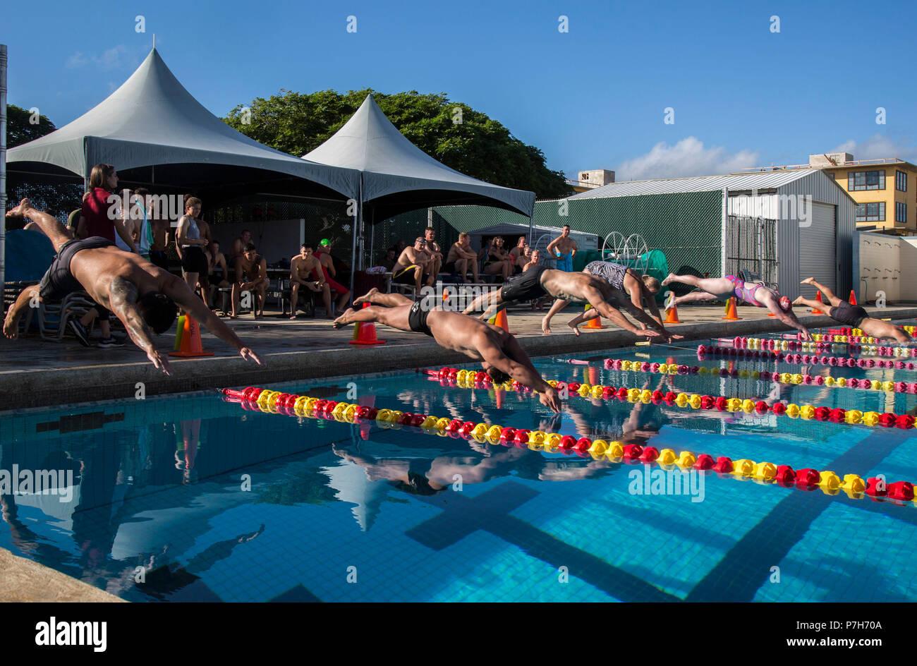 Swim Meet Dive Stock Photos Swim Meet Dive Stock Images Alamy