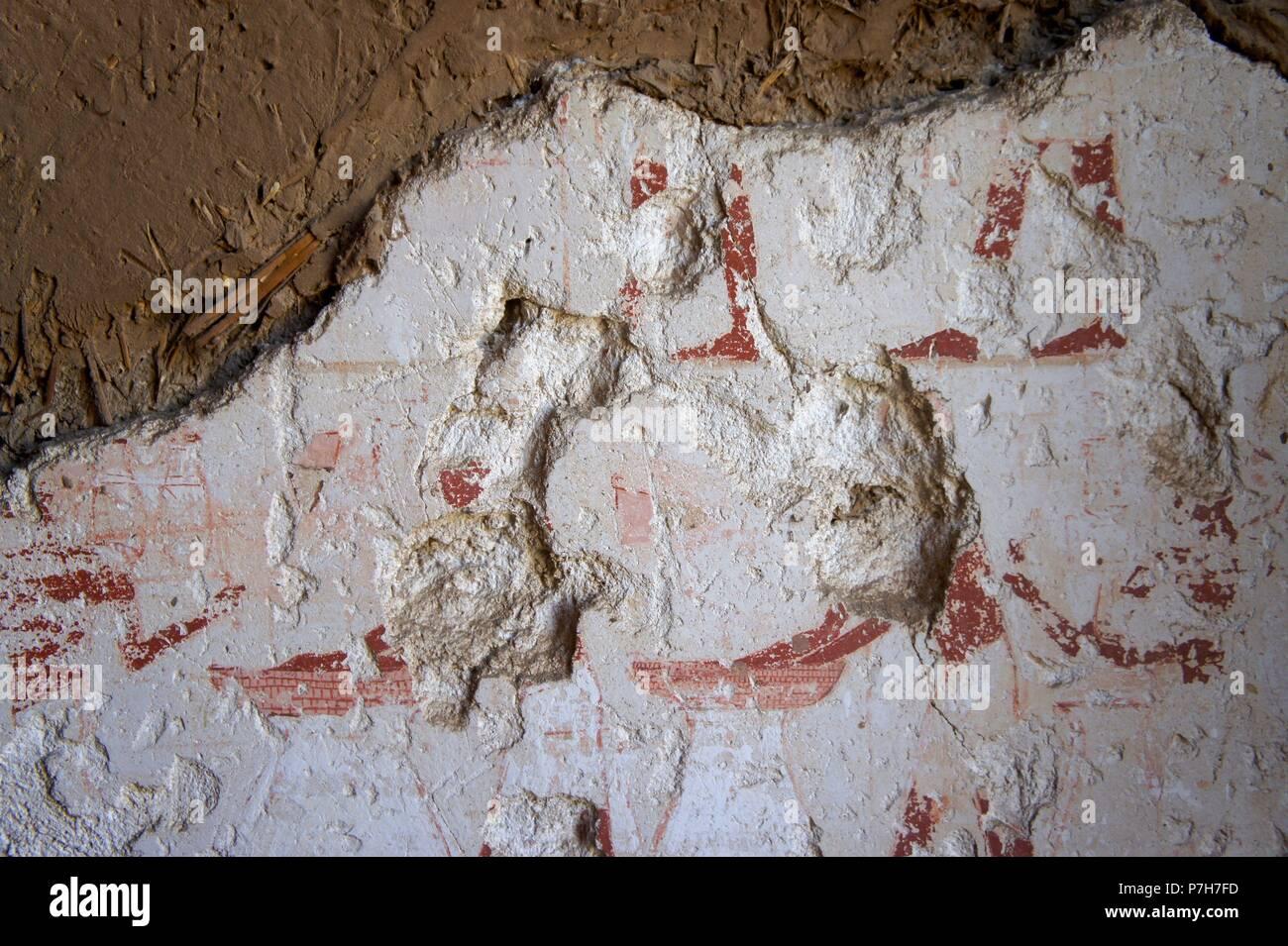 Egipto. Tumba 154 Tati. - Stock Image