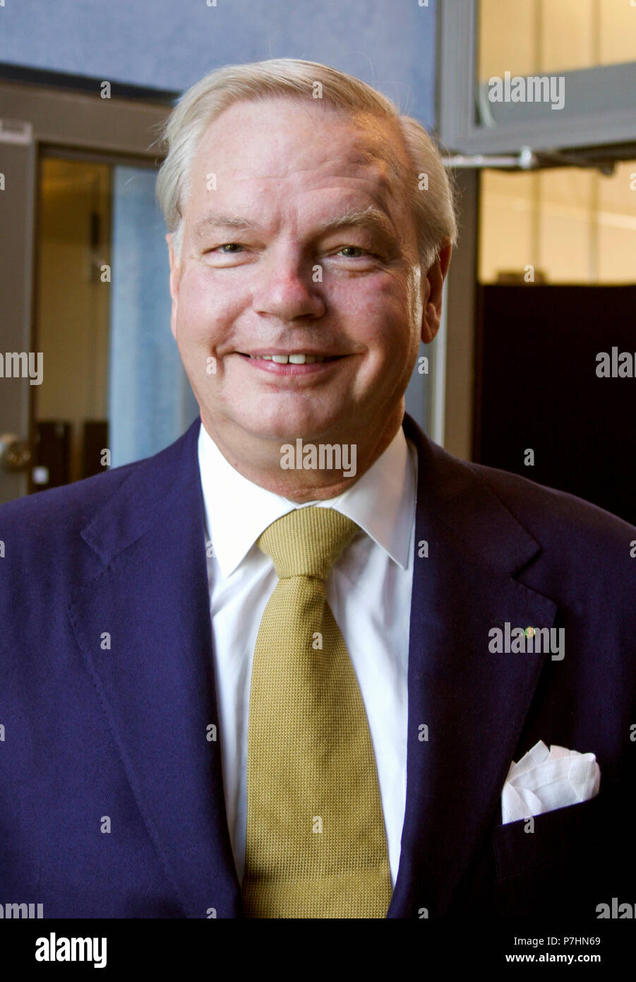 CARL-JAN GRANQUIST Swedish Restaurateur 2006 - Stock Image