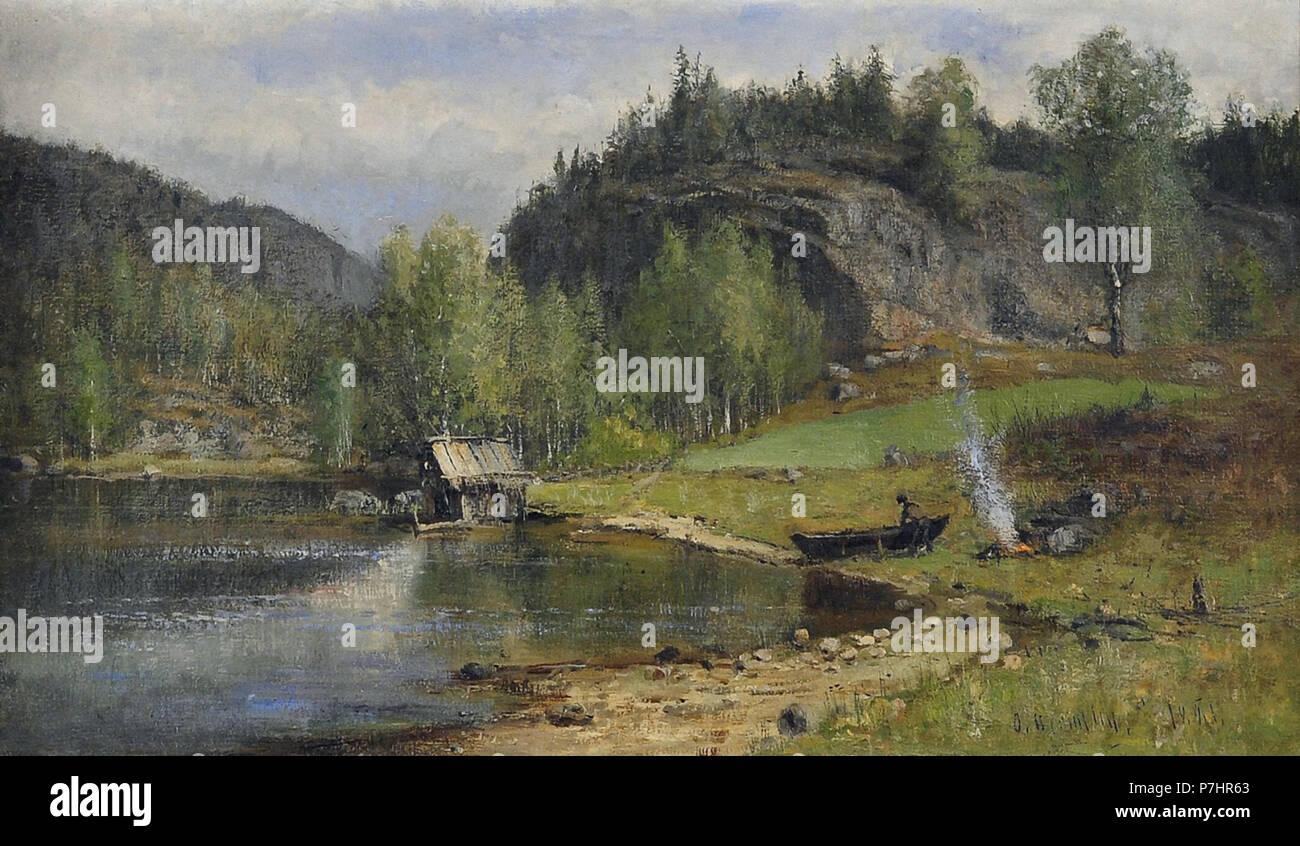 Hermelin  Olof - Sormländsk Sjö - Stock Image
