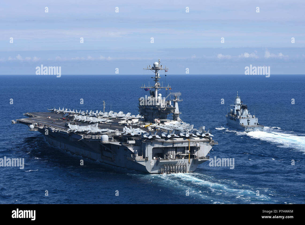 Work on carriers around the globe 51