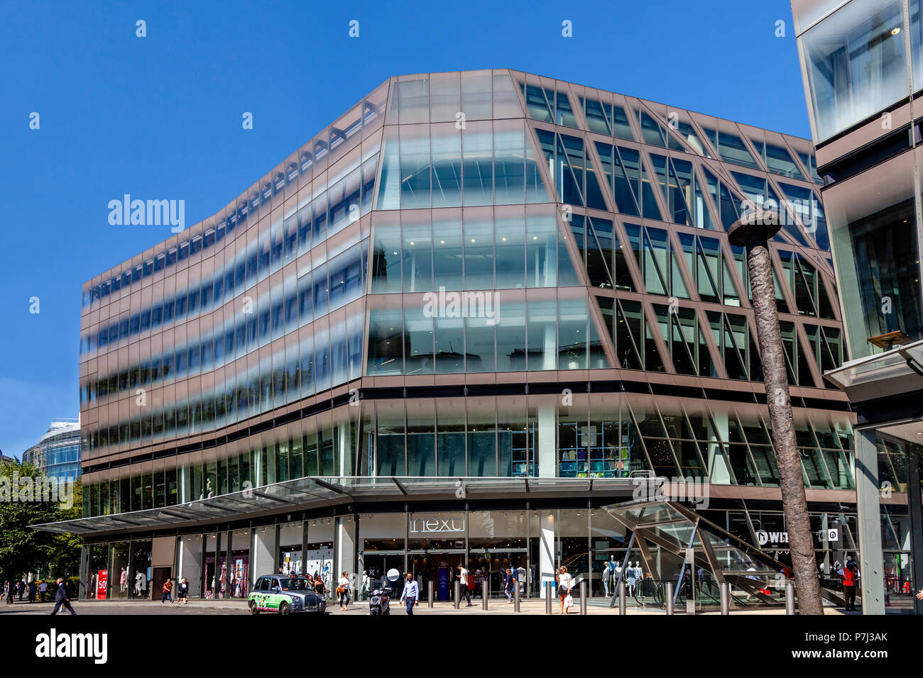 One New Change, Offices and Shopping Centre, London, United Kingdom - Stock Image
