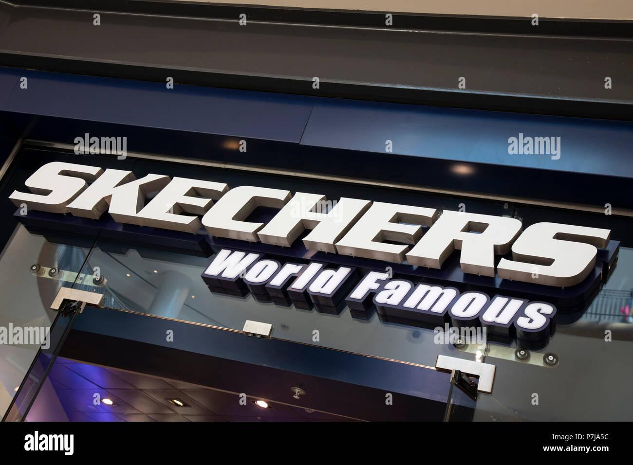 skechers sign