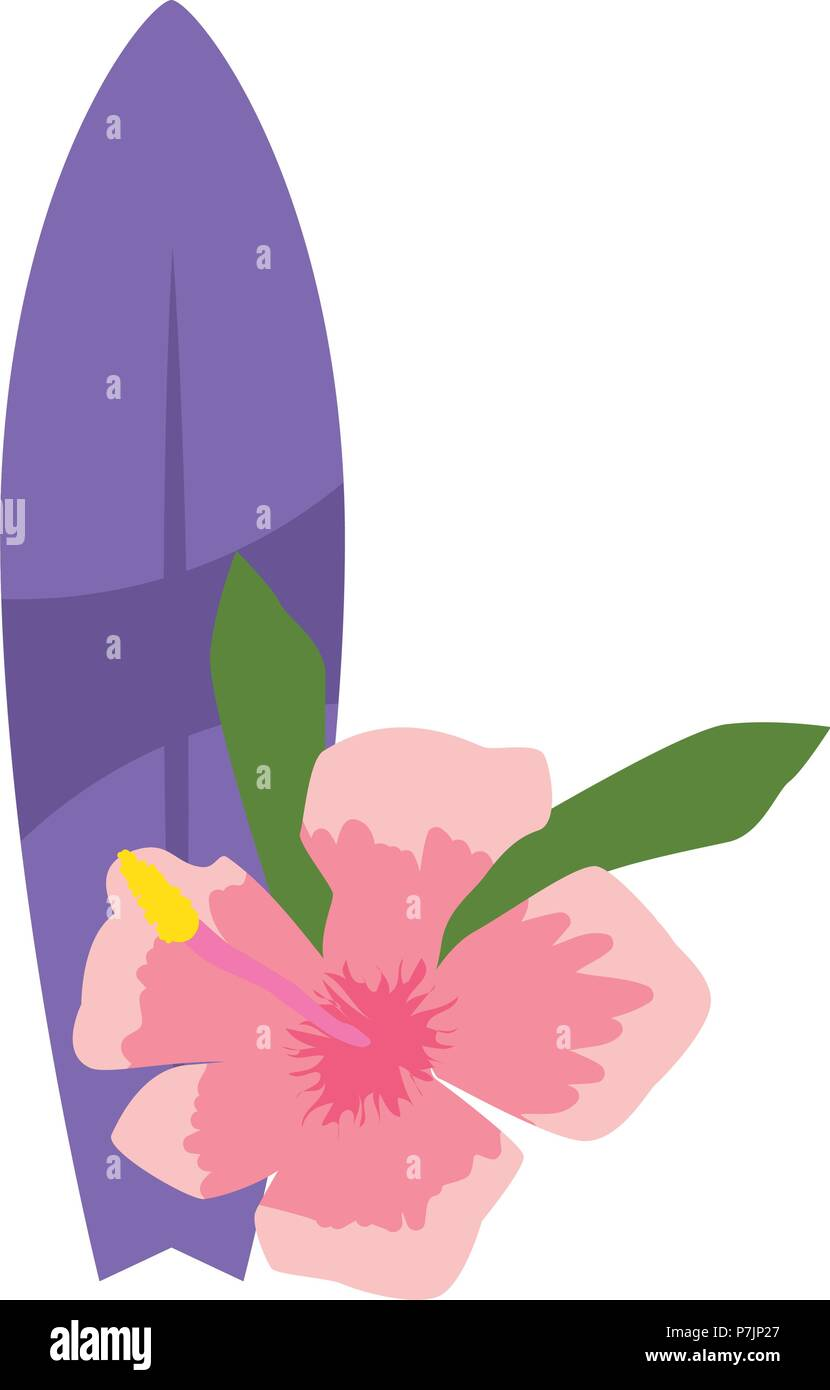 Simple Surfboard Designs Flower Www Topsimages Com