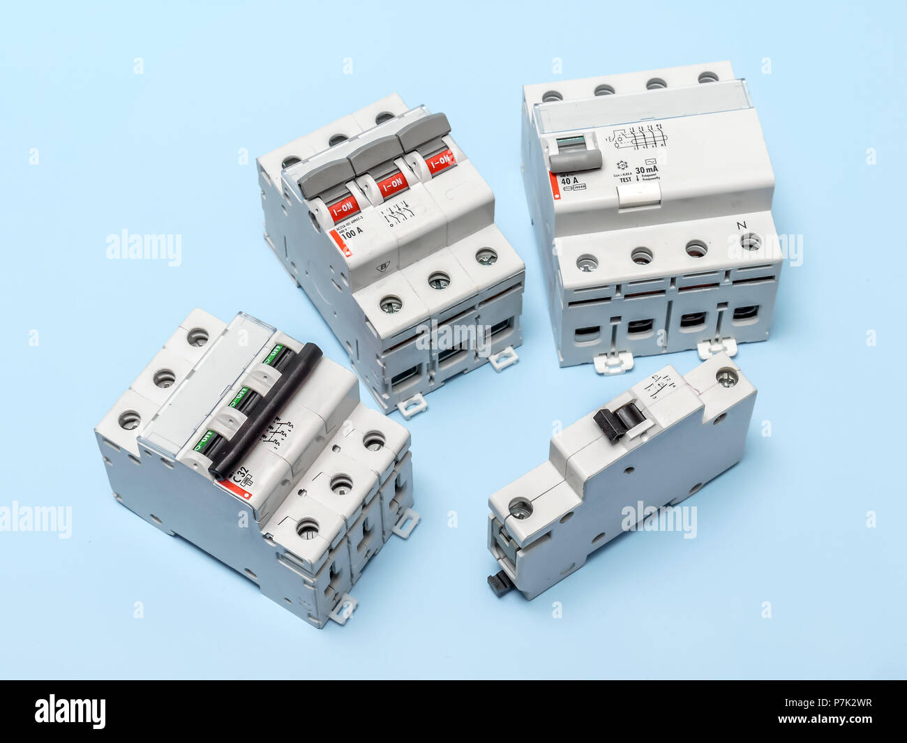 Main Breaker Electrical Stock Photos & Main Breaker Electrical Stock ...