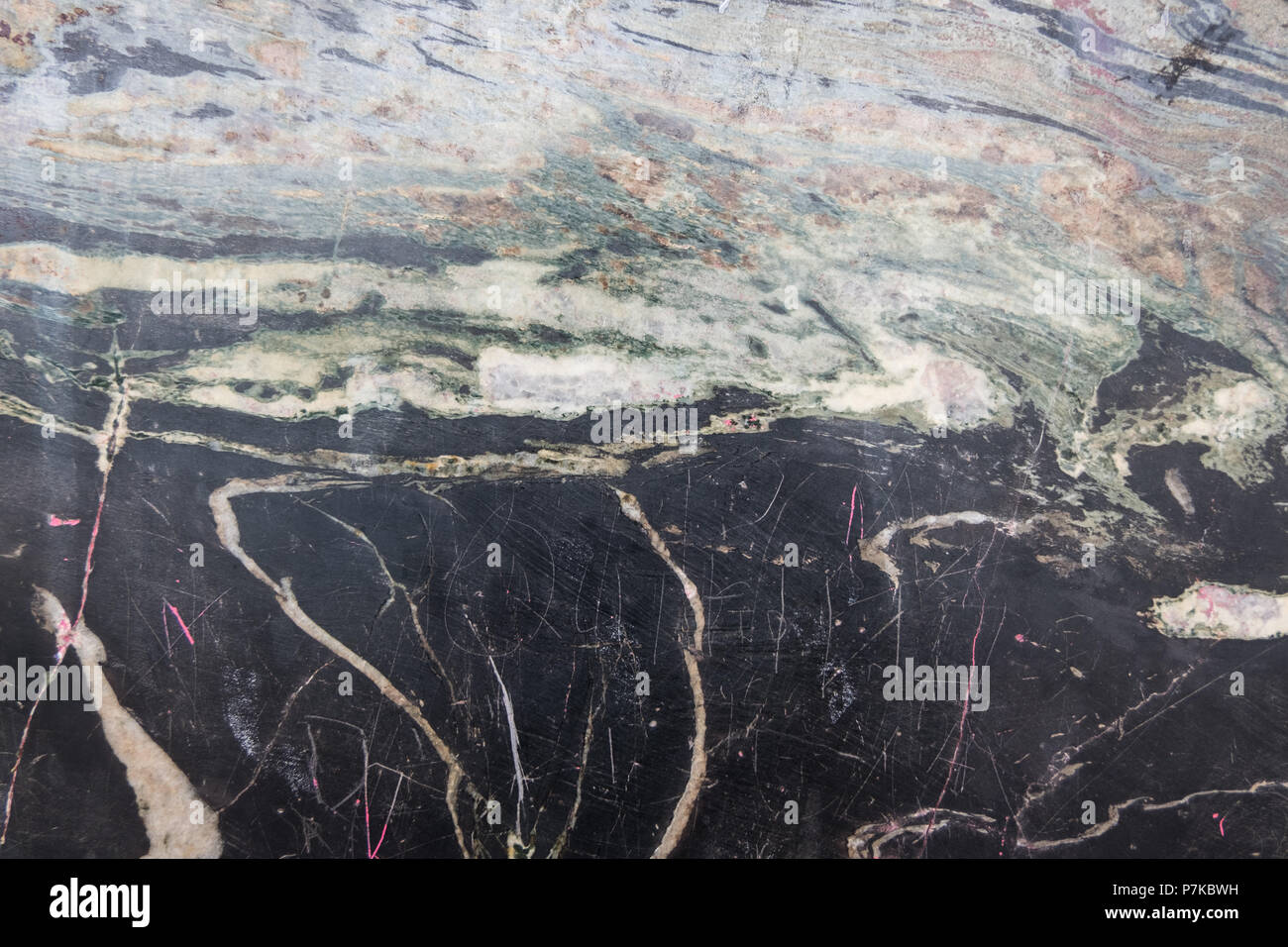 Wallpaper Of Old Black White And Brown Marble Wall Texture