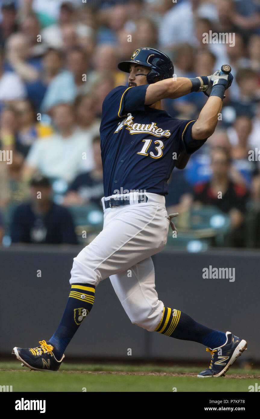 new styles 45ff1 d1a84 Milwaukee, WI, USA. 5th July, 2018. Milwaukee Brewers second ...