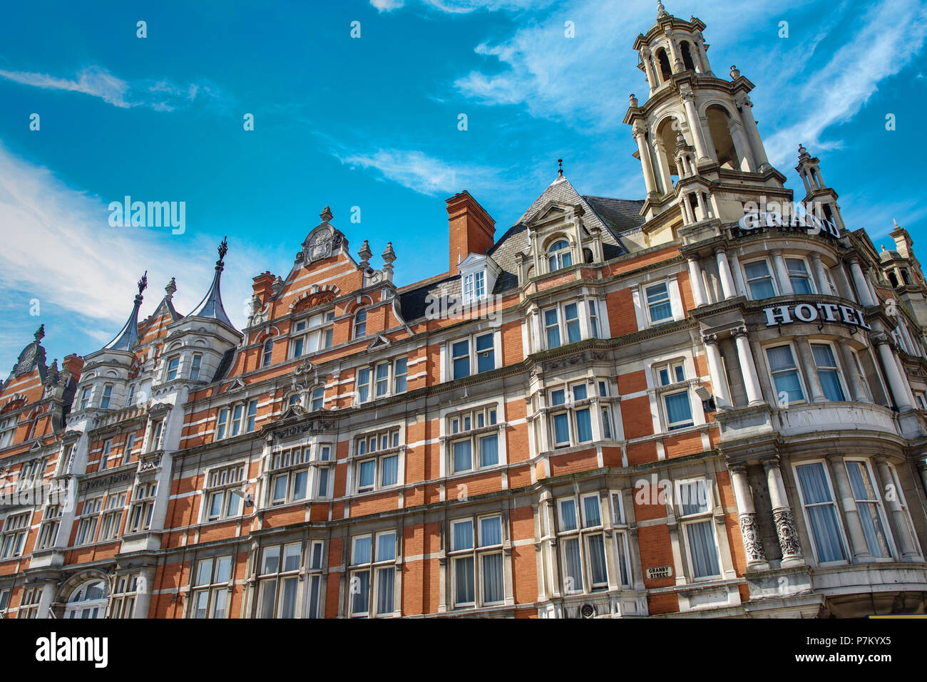 The Grand Hotel Leicester - Stock Image
