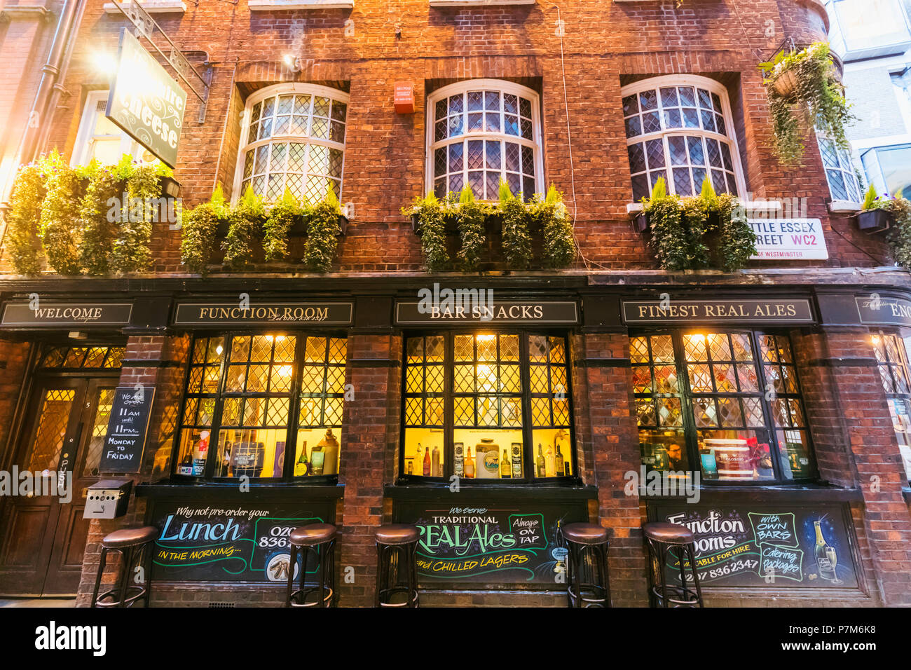 England, London, The City of London, The Cheshire Cheese Pub - Stock Image
