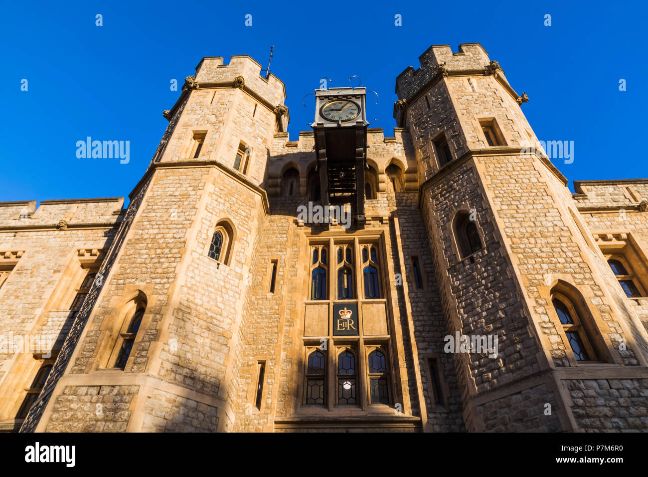 England, London, Tower of London, The Jewel House - Stock Image