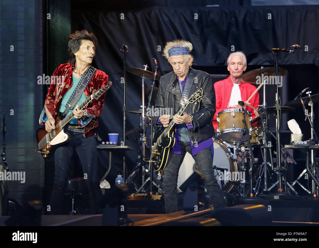 The Rolling Stones Performing On their 'No Filter' Tour At