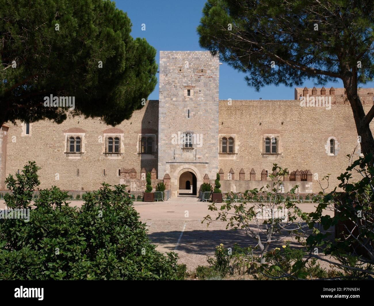 Kings Castle Mallorca Stock Photos Kings Castle Mallorca Stock