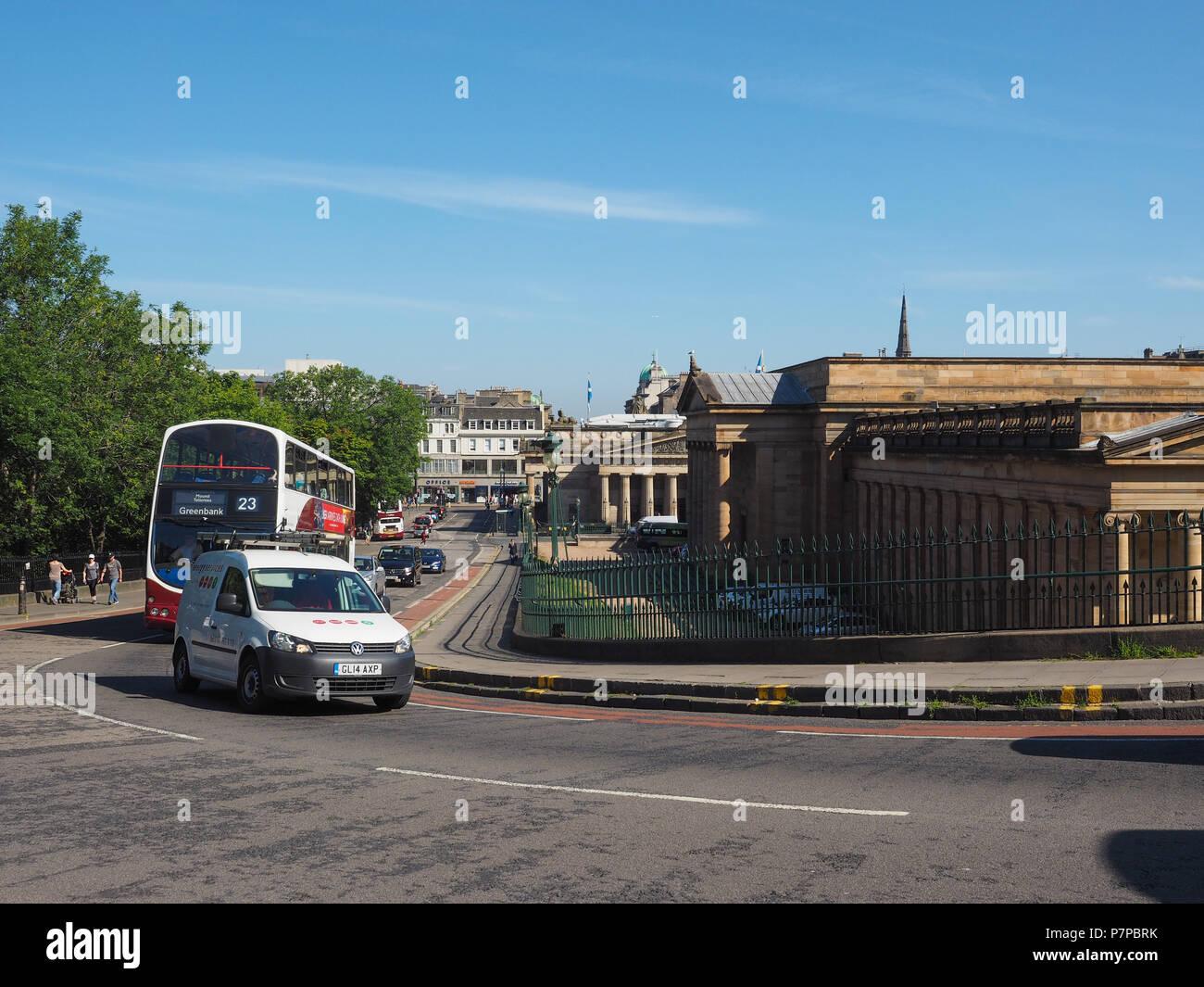 EDINBURGH, UK - CIRCA JUNE 2018: View of the city Stock Photo