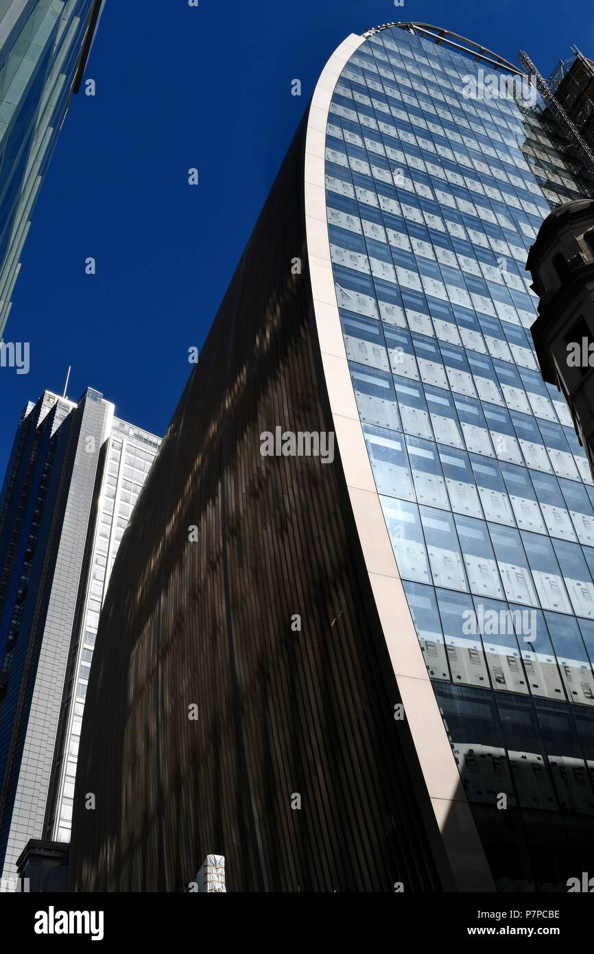 The 'Can of 'Ham' of 70 St Mary Axe in London - Stock Image