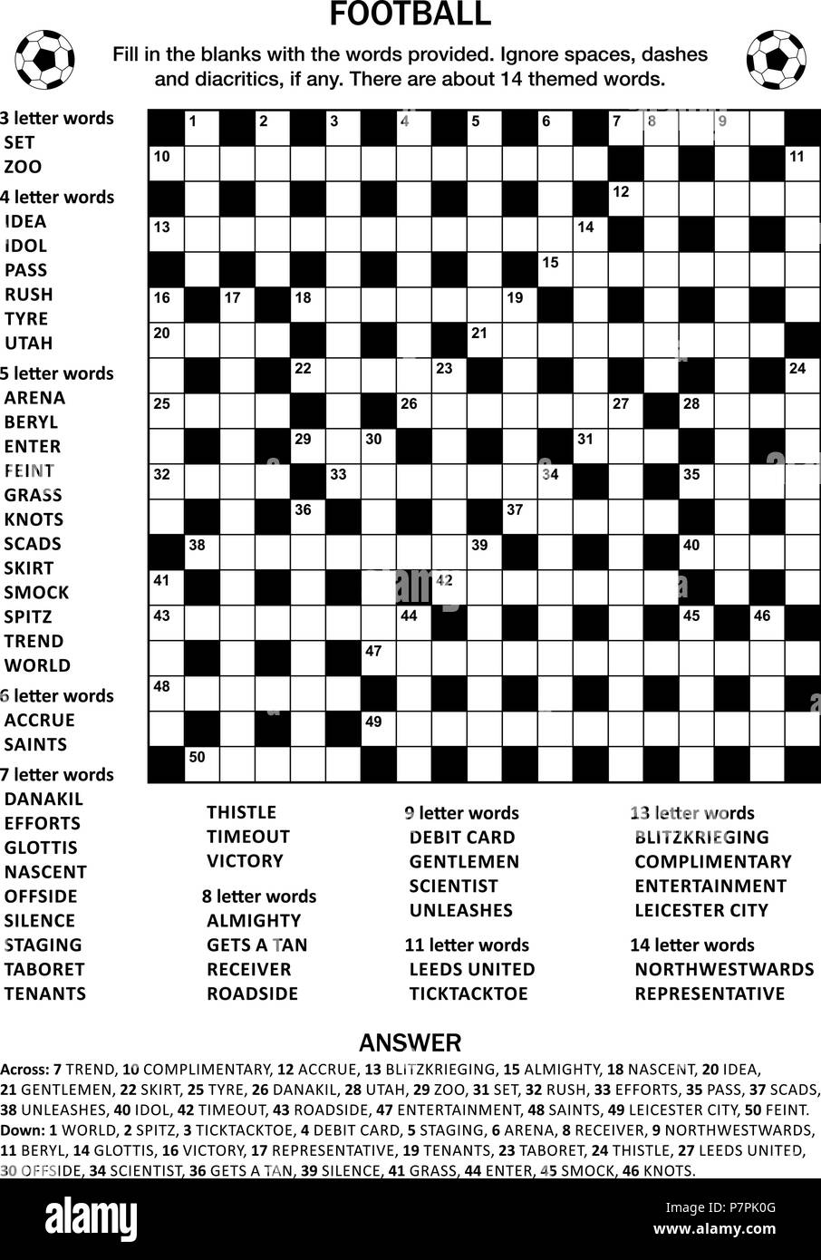 Criss Cross Puzzle Carinewbi