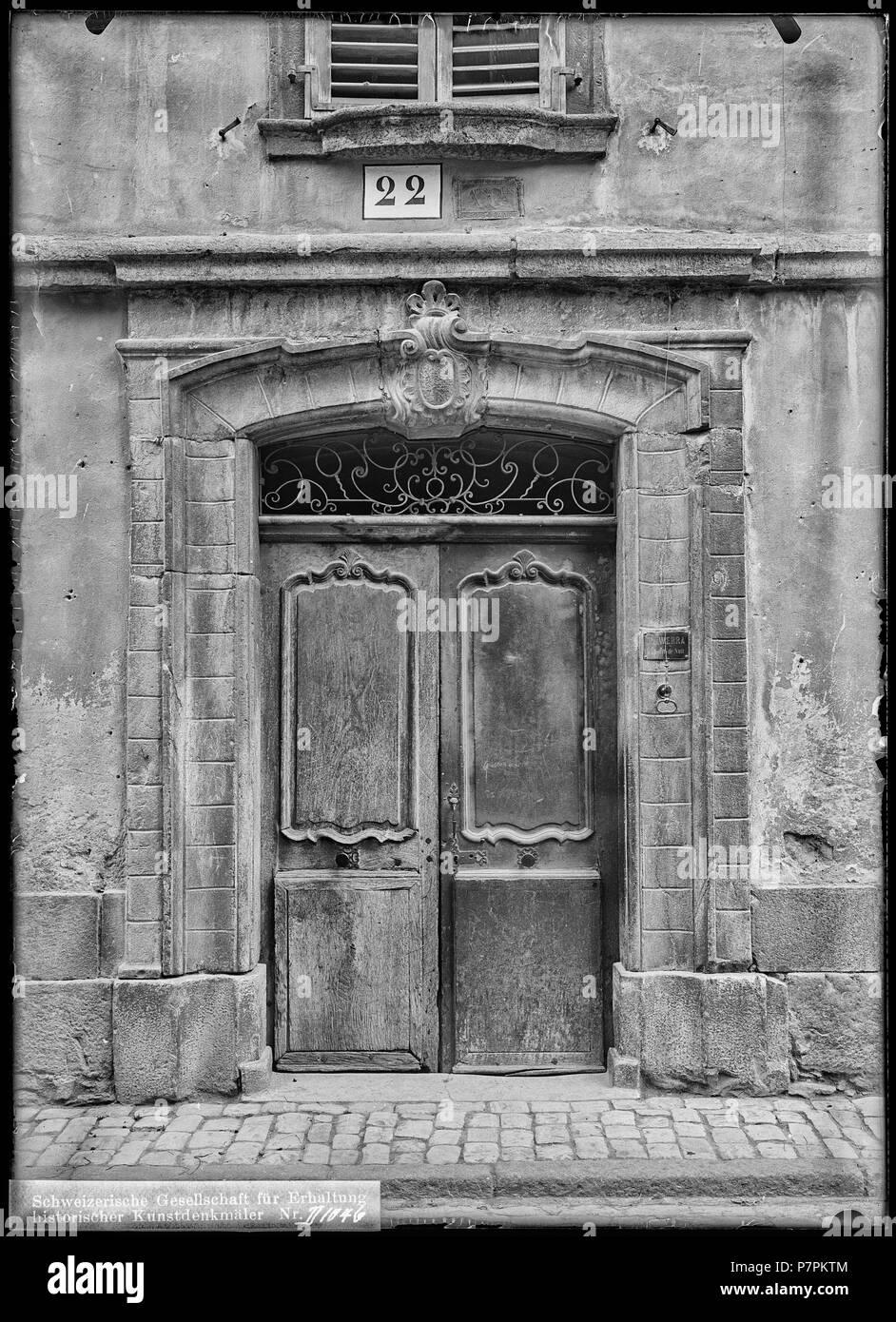 Saint Maurice Maison De La Pierre Porte Vue Densemble Vue D