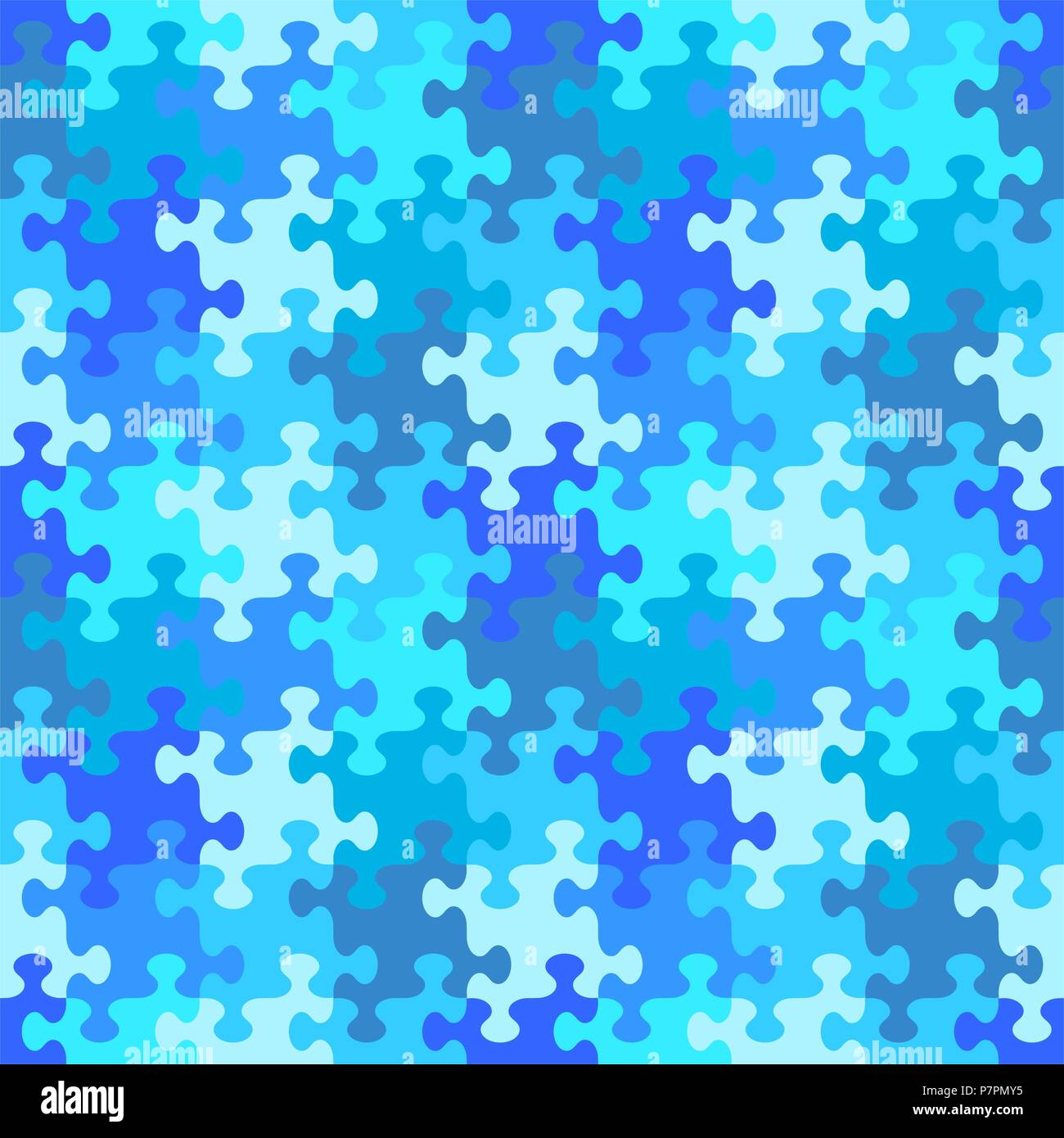 Seamless You See 4 Tiles Jigsaw Puzzle Pattern Background