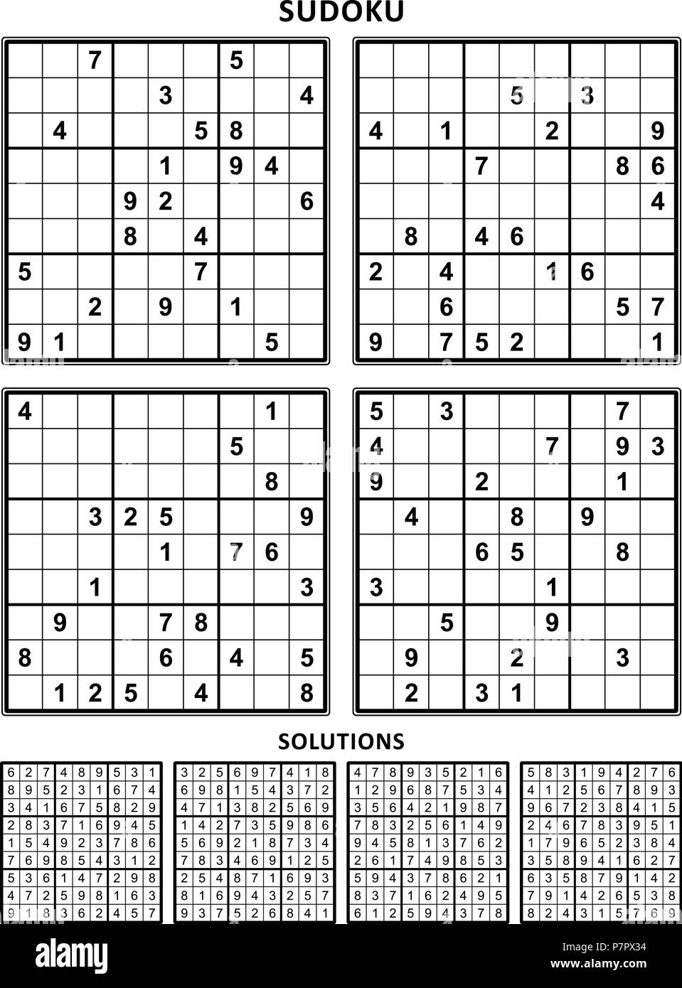 It's just a photo of Mesmerizing Printable Sudoku 6 Per Page