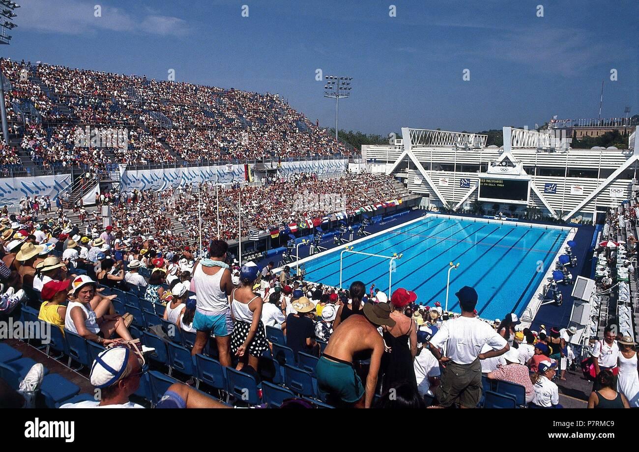 Juegos Olimpicos Barcelona 92 Competicion Olimpica De Natacion