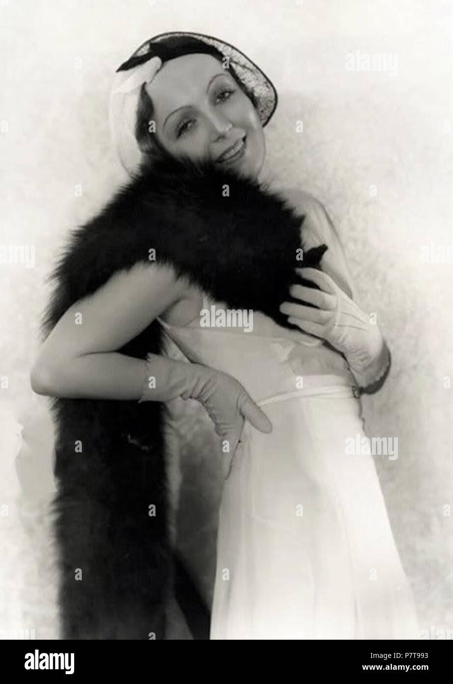 Gita Parlo . 1931 134 Dita Parlo Fryer31 - Stock Image