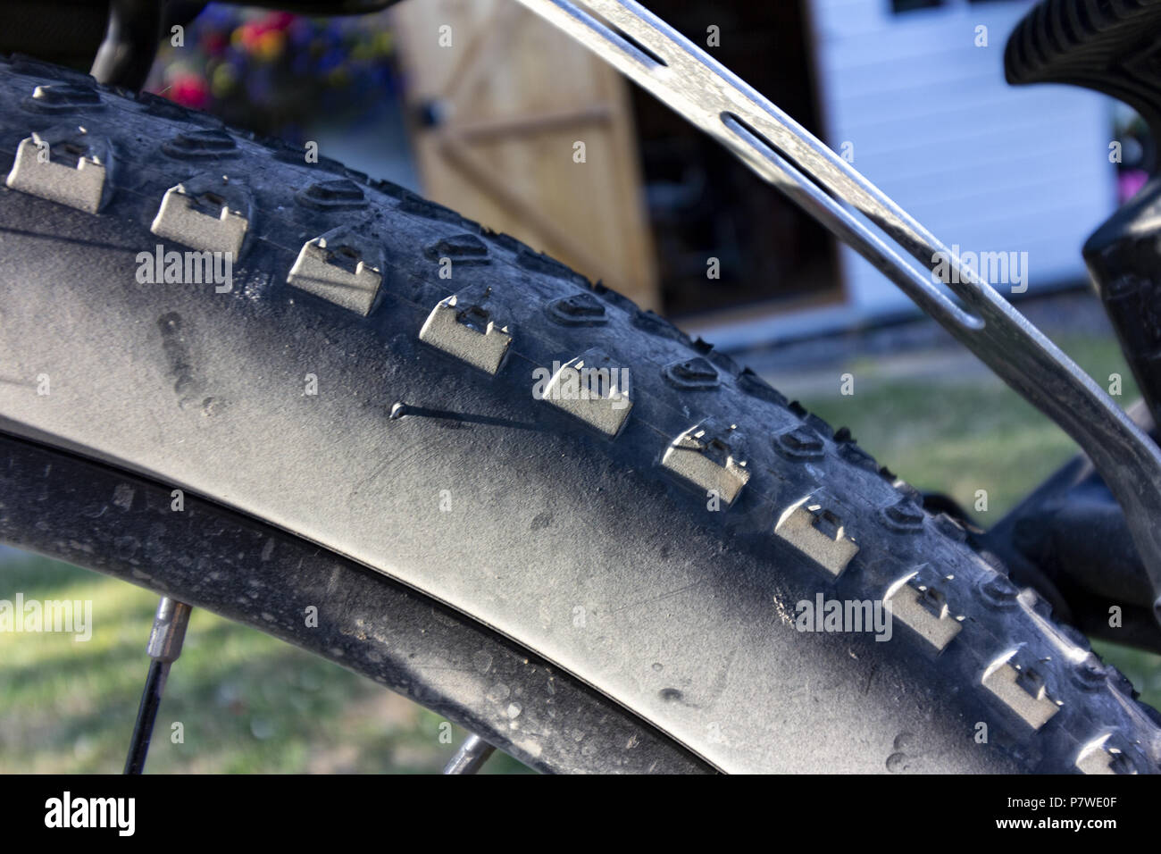 Off road tyre - Stock Image
