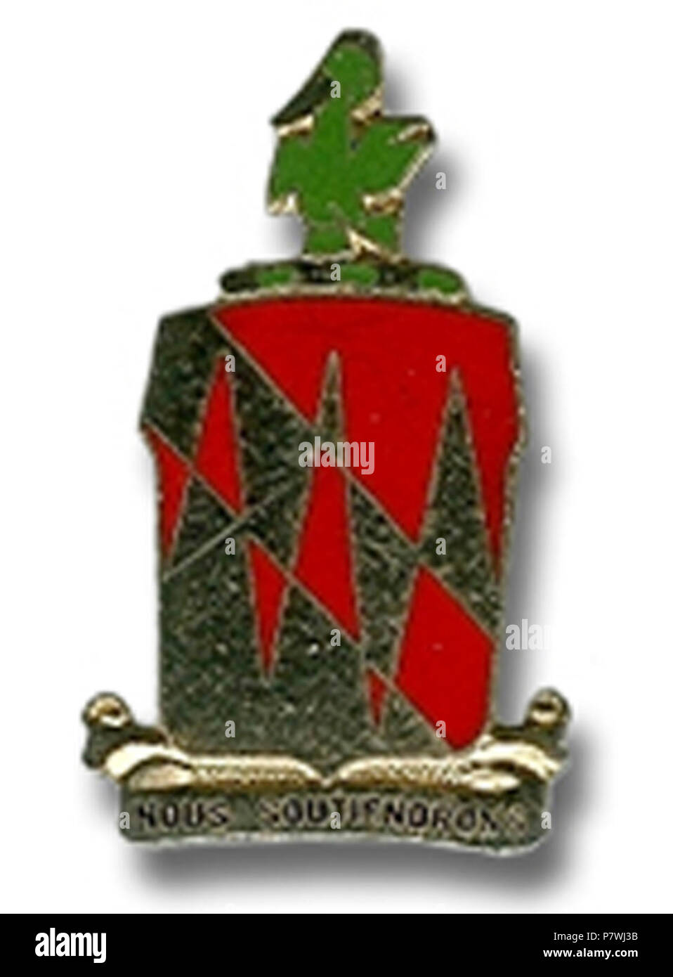 42nd FA Group crest 1. - Stock Image