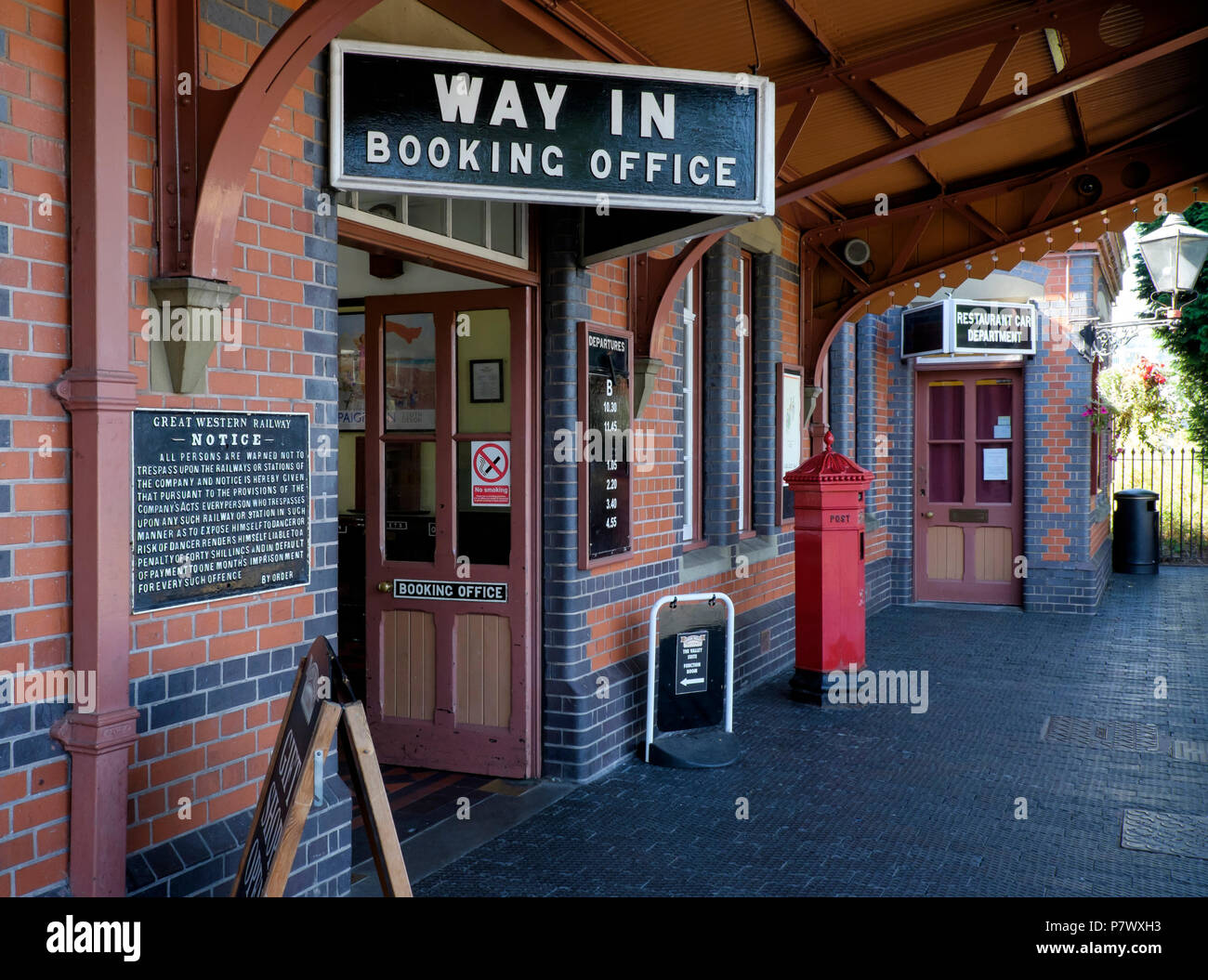 Kidderminster Severn Valley Railway Station, Kidderminster, Worcestershire, England, Europe - Stock Image