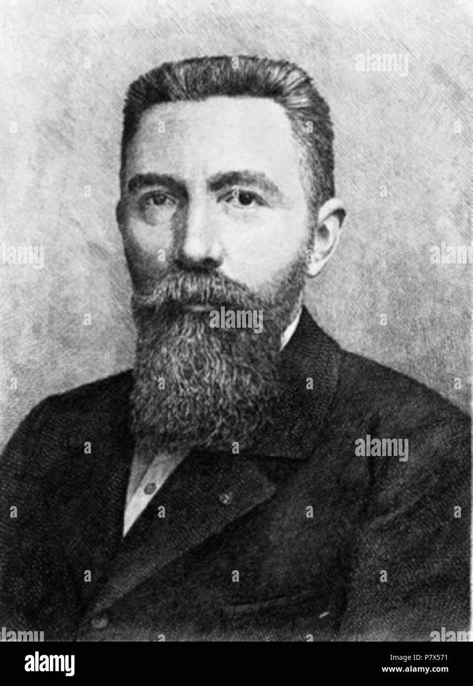 Deutsch: Jean-Maurice-Émile Baudot . before 1903 145 Emile Baudot Stock Photo