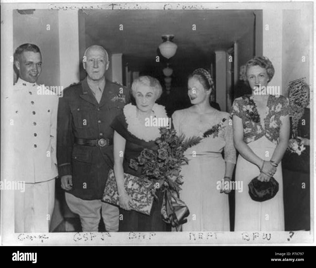 Beatrice Smith Stock Photos Images Alamy 3 Ivory 37 English George Patton With Wife Children S Iii