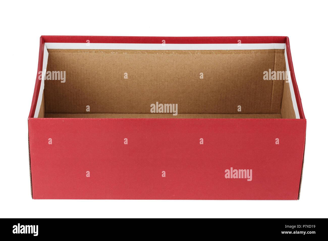 Empty Shoe Box High Resolution Stock