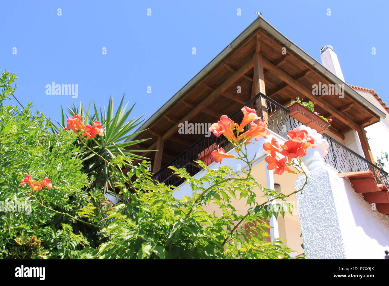 Traditional Greek House Kefalonia Island