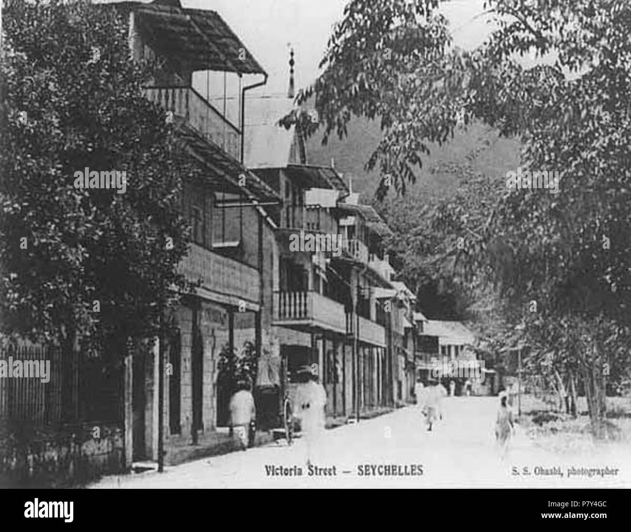 N/A. N/A 392 Victoria Street Victoria Seychelles 1900s - Stock Image
