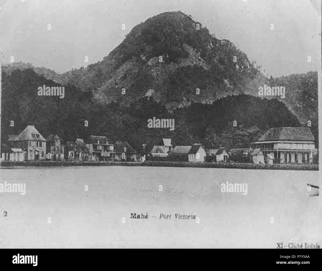 N/A. N/A 391 Victoria Seychelles 1900s - Stock Image