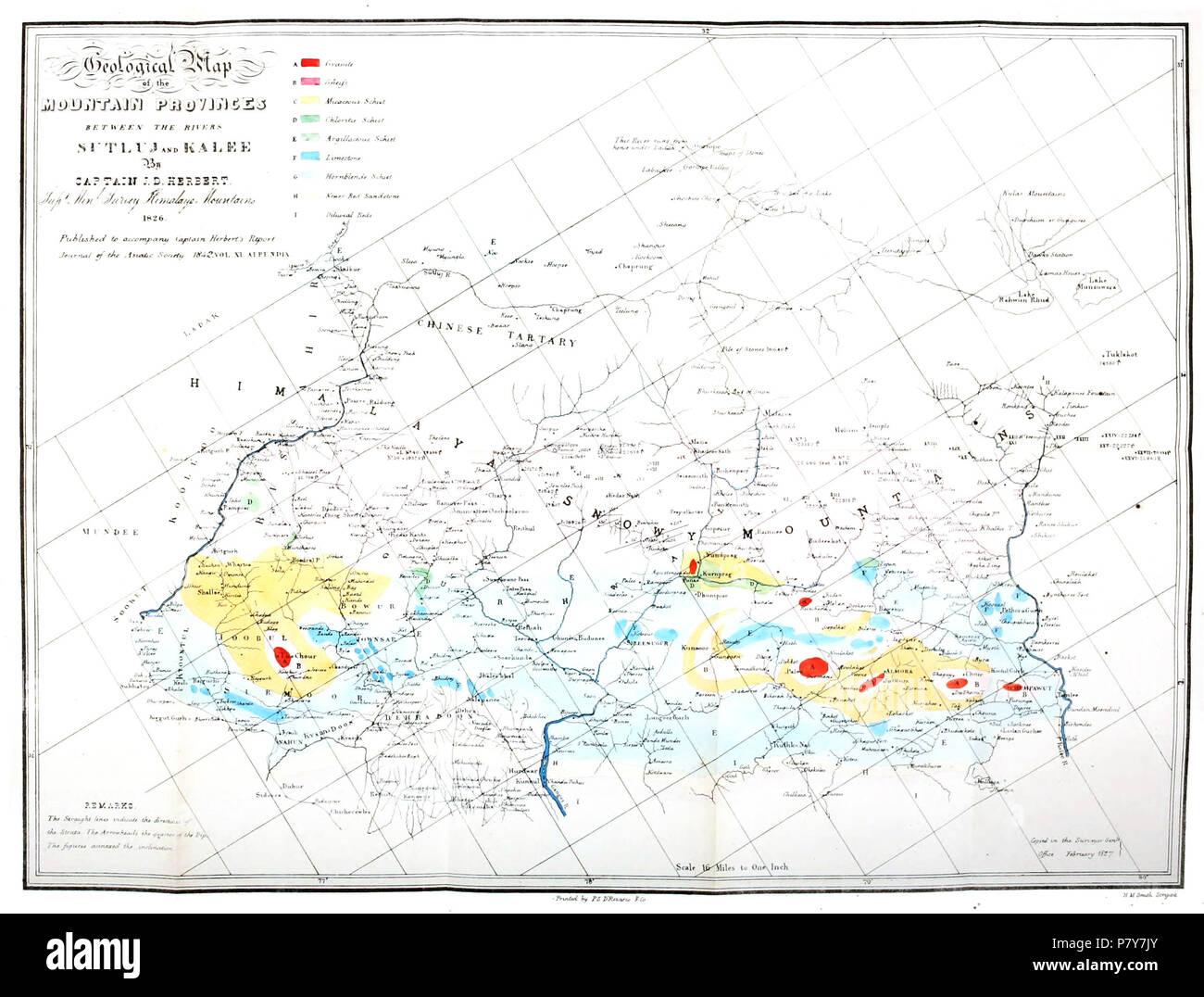 Geological Map Of India.Geological Map Of India Stock Photos Geological Map Of India Stock