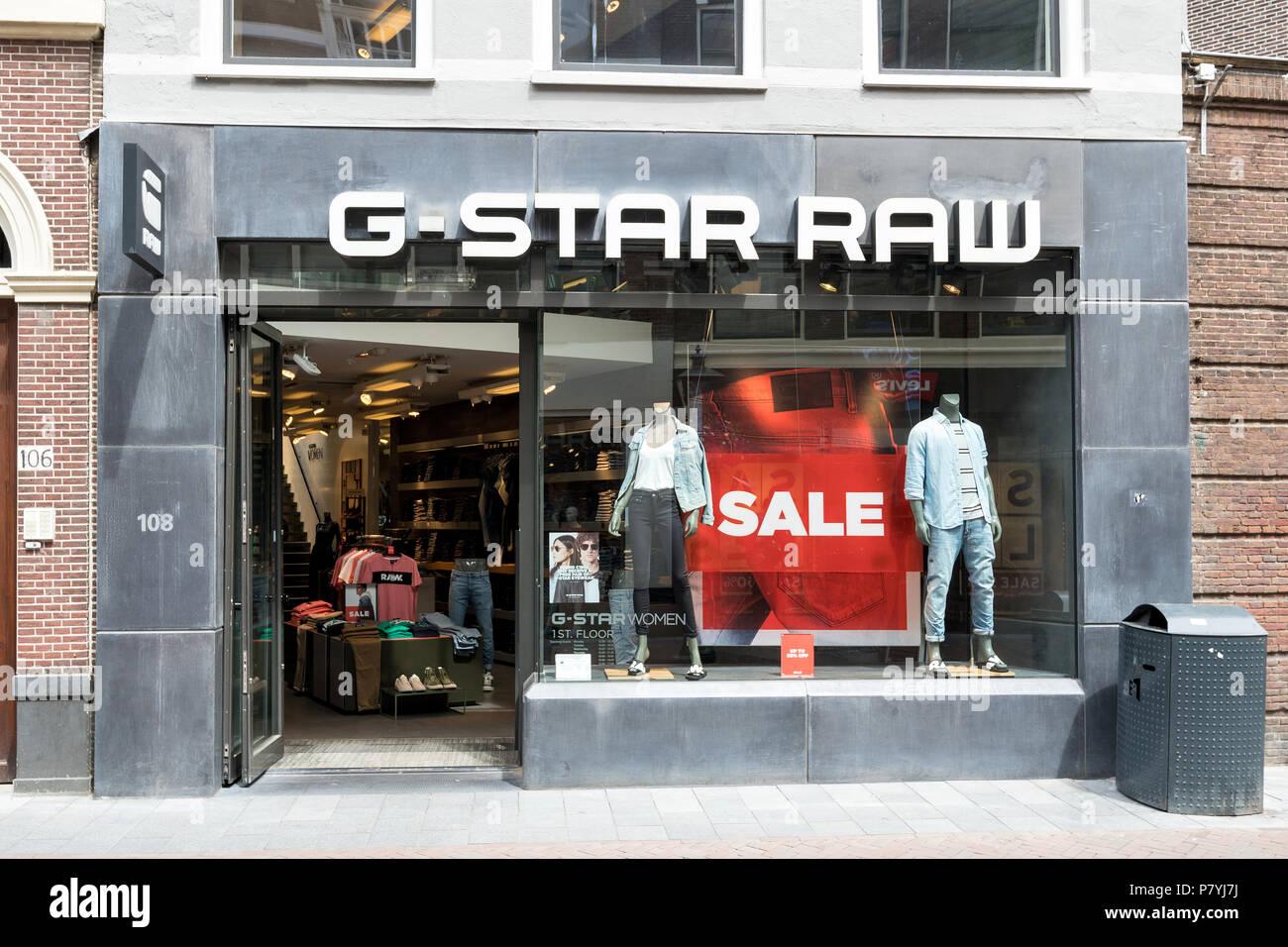 Dutch Fashion Store Stock Photos Dutch Fashion Store Stock Images