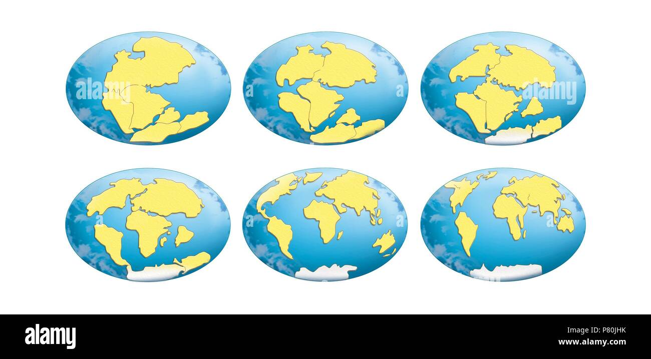 Pangea Cut Out Stock Images Pictures Alamy