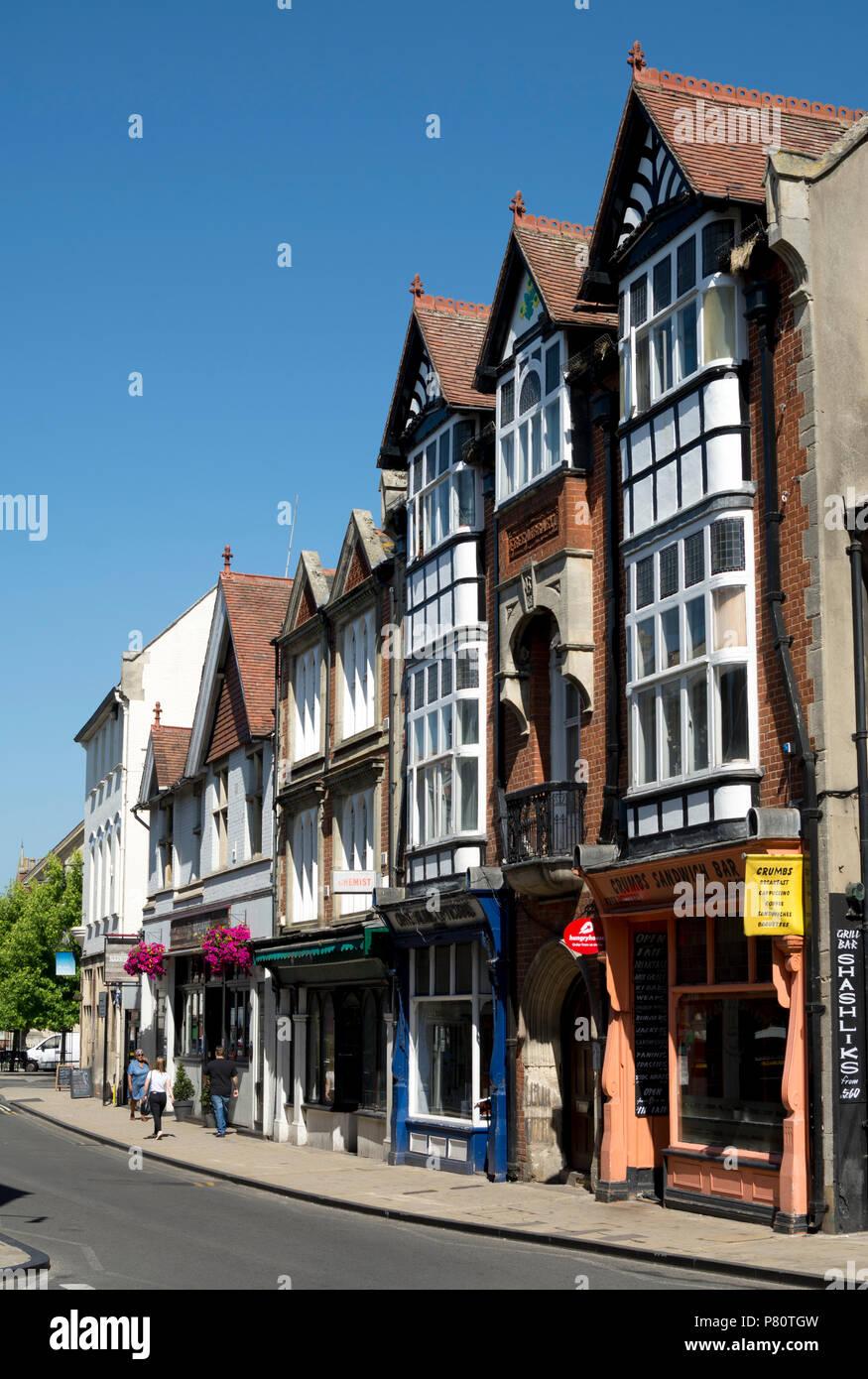 High Street, Abingdon, Oxfordshire, England, UK - Stock Image