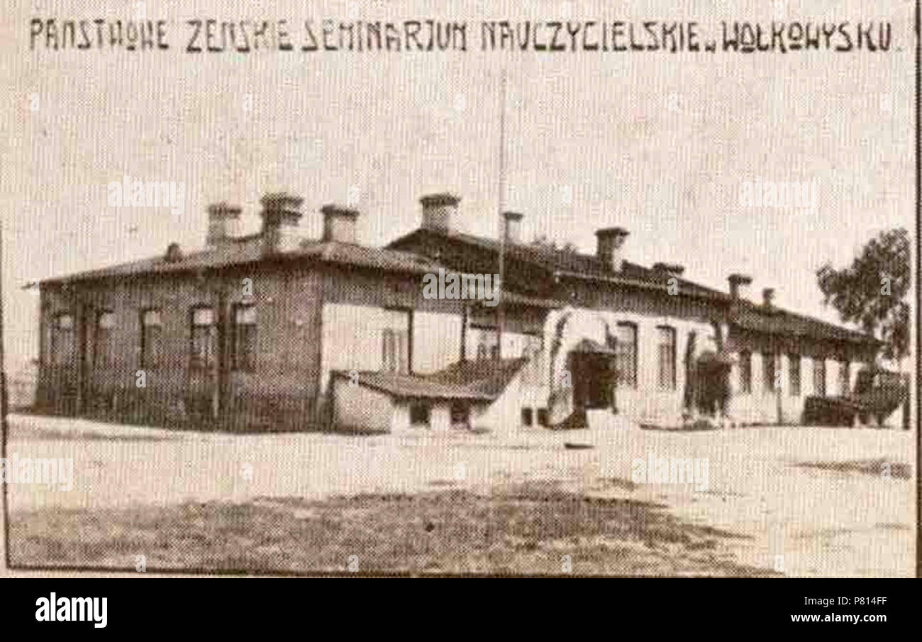 385 Vaŭkavysk, Vola. Ваўкавыск, Воля (1919-39) - Stock Image