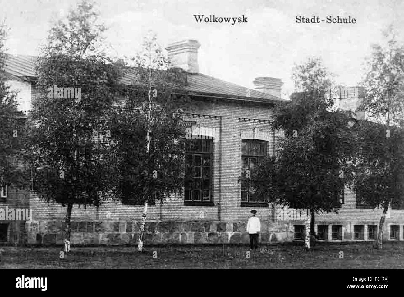 385 Vaŭkavysk, Vola. Ваўкавыск, Воля (1916) - Stock Image