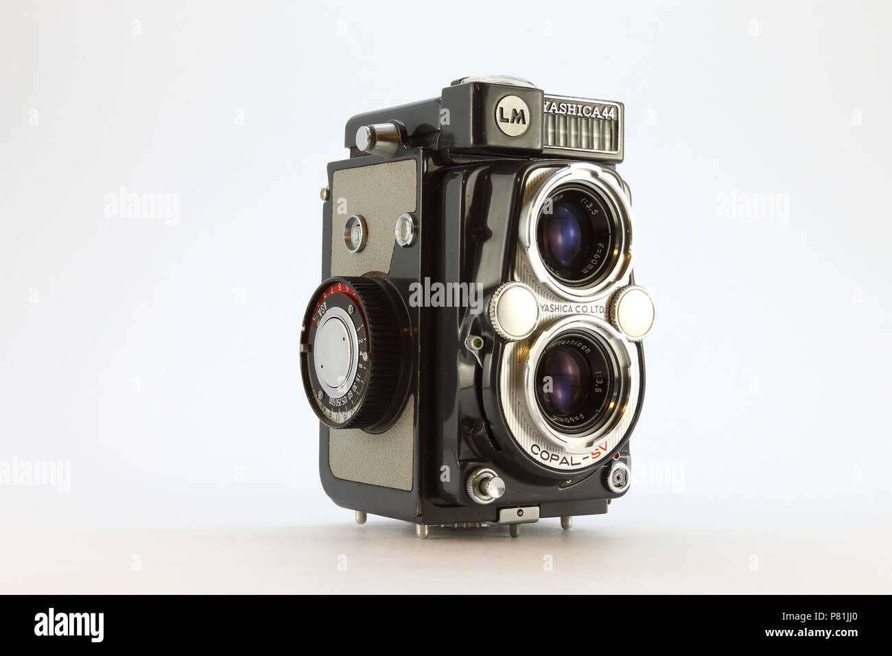 Yashica-44LM from the 1950's - Stock Image